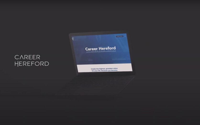 Careerhereford-Website-Design-Video