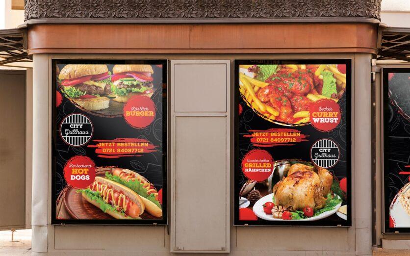 German-Restaurant-Display-menu