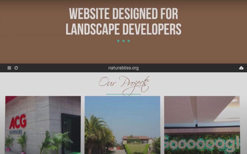 Nature-Biss-Website-Design-Video